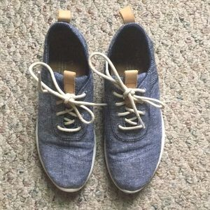 Toms Chambray Casual Sneakers